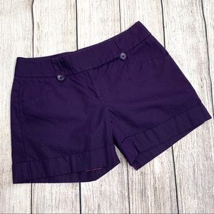 The Limited Purple Drew Fit Shorts